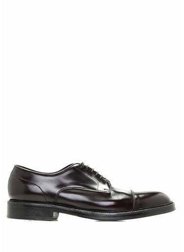 %100 Deri Bağcıklı Klasik Ayakkabı-Green George